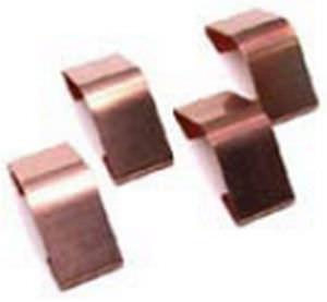 EMI shielding finger stock / beryllium copper