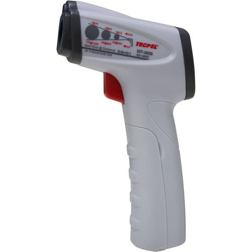 infrared radiation thermometer / digital / rugged / industrial