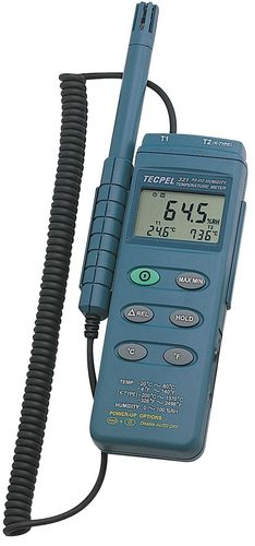digital hygrometer / portable / relative humidity / industrial