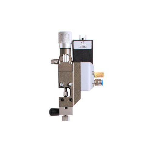 adhesive micro-dispenser / silicone / for high-viscosity media / for low-viscosity liquids