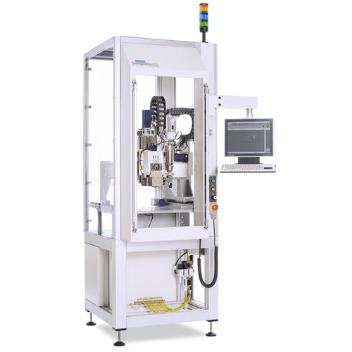 liquid dosing unit / resin / for the electronics industry / for the plastics industry