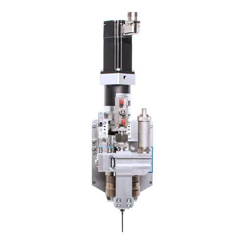 low-viscosity liquid dosing dispenser / for medium-viscosity media / adhesive / silicone