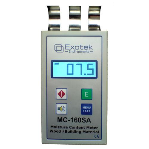 Wood moisture meter / dielectric / non-destructive / hand-held MC-160SA  Exotek Instruments