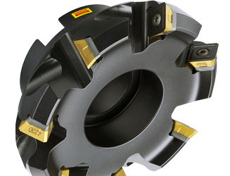 shell-end milling cutter / insert / finishing / for metal