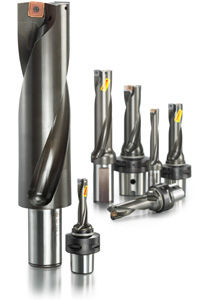 indexable insert drill bit / multi-purpose / carbide / high-productivity