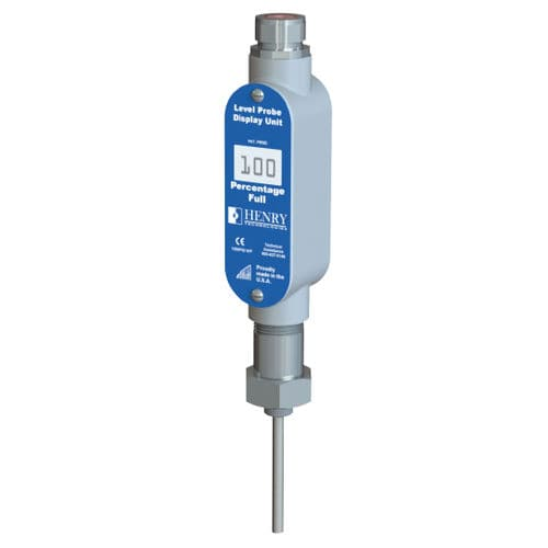capacitive level sensor / for liquids / for oil / with digital display