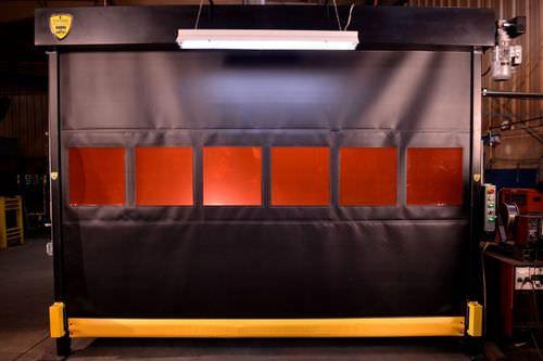 roll-up door / fabric / steel / industrial