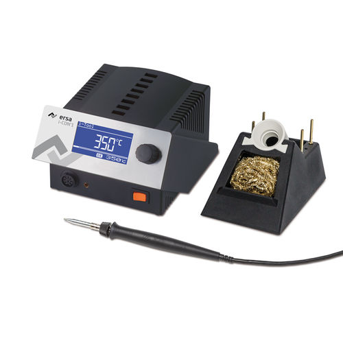 automatic soldering station / digital / with temperature control
