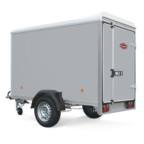 van trailer / single-axle / container / heavy-duty