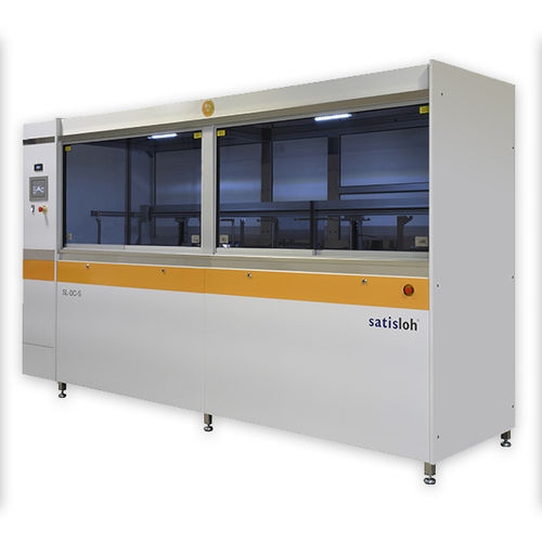 ultrasonic cleaning machine / automatic / for the chemical industry / for medical applications