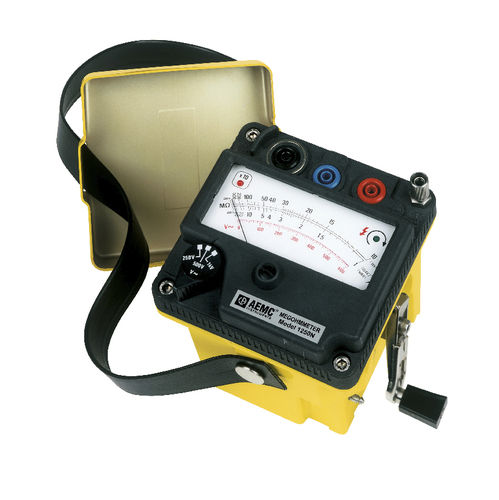 insulation resistance tester / cabling