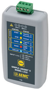 voltage data-logger / USB / without display / multi-channel
