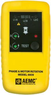 phase sequence indicator / LED / handheld