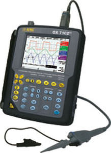 digital oscilloscope / portable / 2-channel