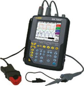 digital oscilloscope / portable / 4-channel