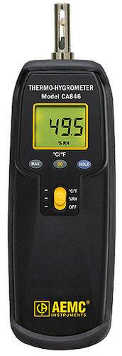 digital thermo-hygrometer / hand-held / relative humidity / temperature