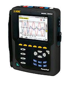 electrical network analyzer / power quality / portable