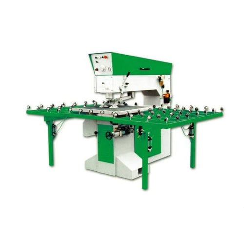 horizontal drilling machine / for glass