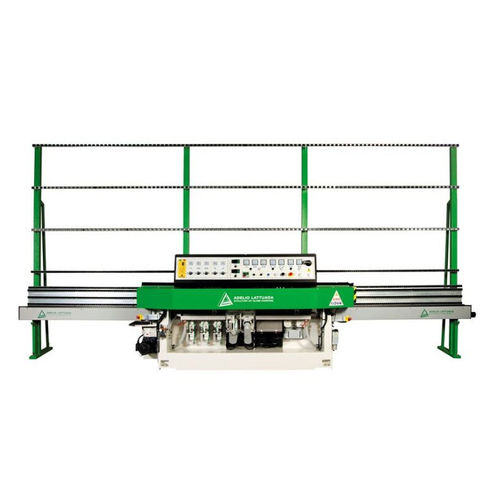 glass edging machine / electronic / straight-line