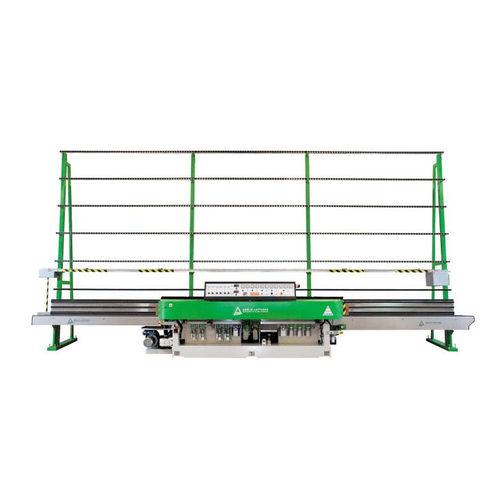 glass edging machine / electronic / straight-line