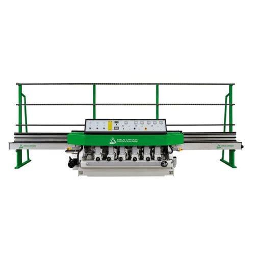 glass edging machine / peripheral / straight-line