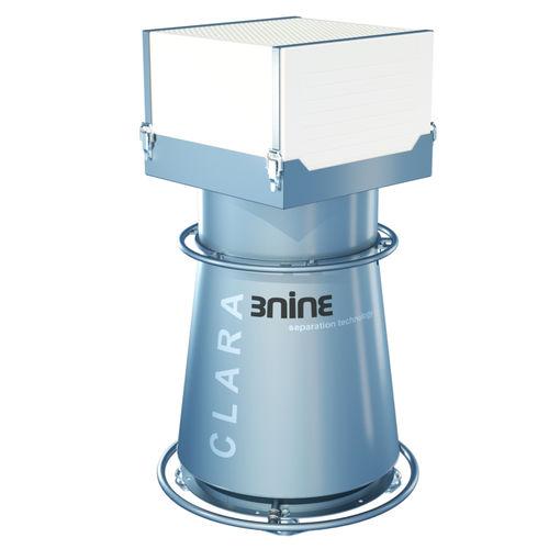 disc stack separator / oil mist / liquid coolant / process