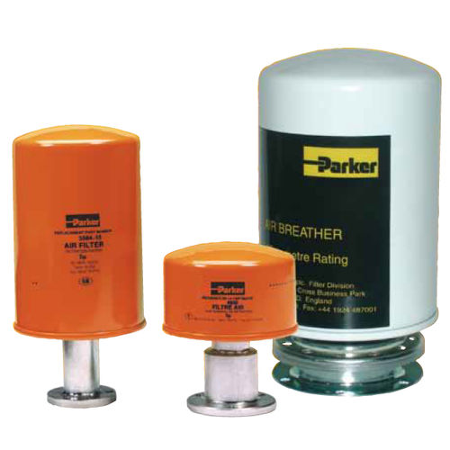 Air filter / high-capacity / screw-lock / particulate Parker Hannifin France SAS