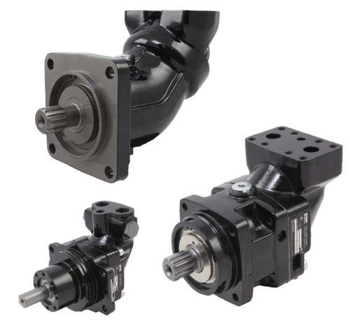 axial piston hydraulic motor / fixed-displacement / bent-axis