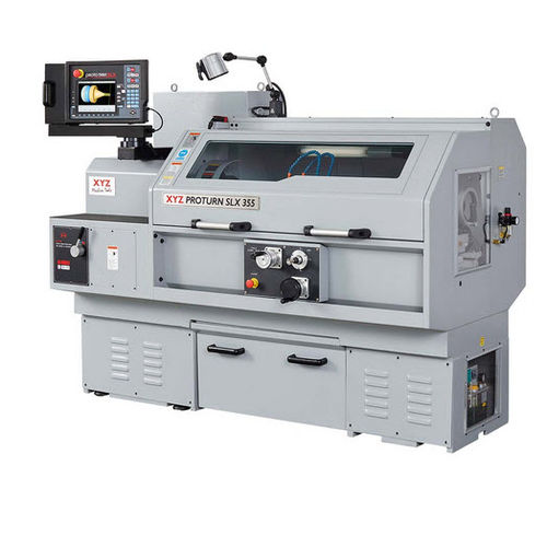 CNC lathe / 2-axis / high-precision / high-speed