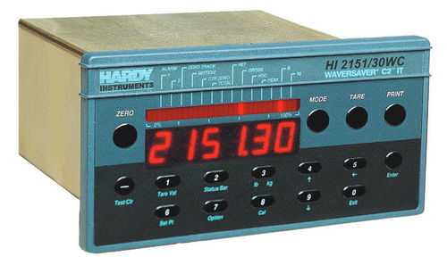 Panel-mount weight indicator-controller HI 2151/30WC Hardy Process Solutions
