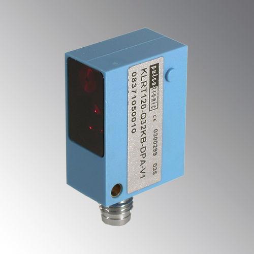 Reflex type photoelectric sensor / rectangular / laser Pulsotronic