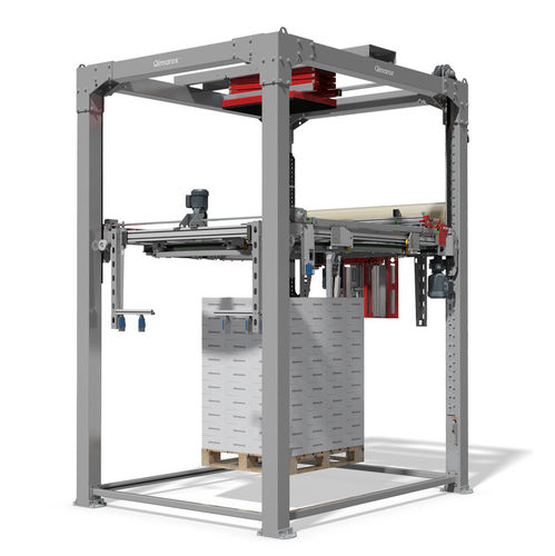 rotary ring stretch wrapper / fully automatic / for OEM / stretch film