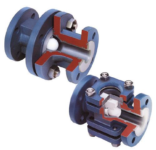 Ball check valve / PTFE-lined ARV2  Diflon