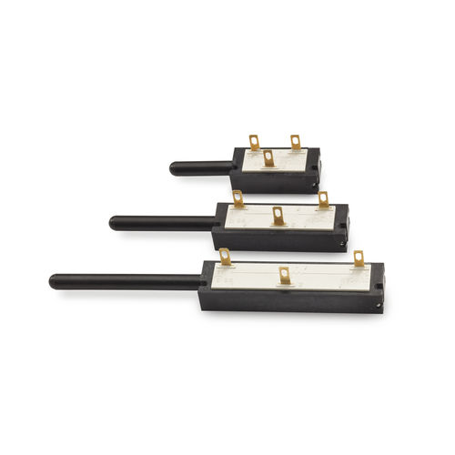 linear position sensor / spring-loaded potentiometer / analog / high-precision