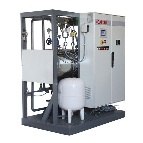 superheated water boiler / electric / tubeless