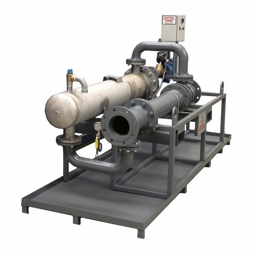 shell and tube heat exchanger / gas/liquid / stainless steel / steel