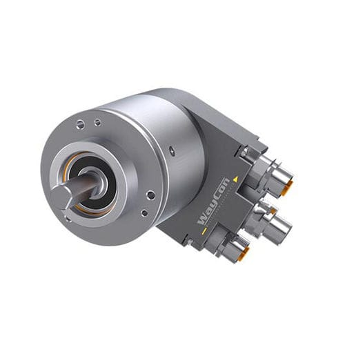 absolute rotary encoder / EtherCAT / blind-shaft / multi-turn