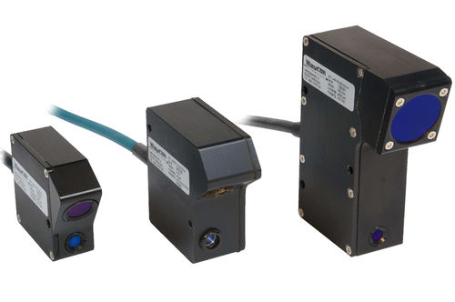 linear position sensor / non-contact / laser triangulation / with SSI interface
