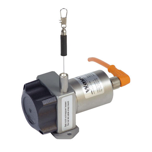 draw-wire position sensor / hybrid potentiometer / with analog output / CANopen