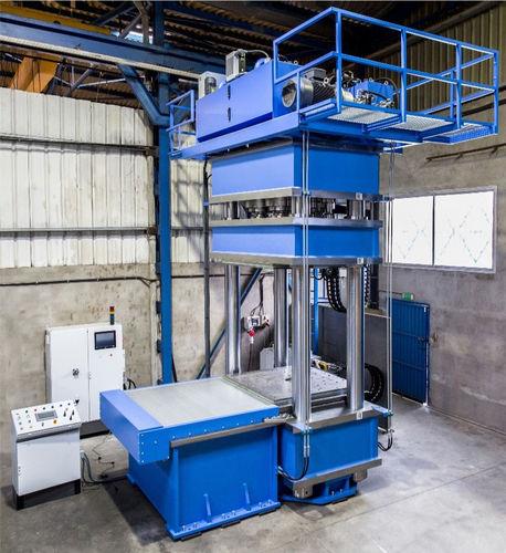Hydraulic press / vulcanizing / 4-column MV-1000 E HIDROGARNE
