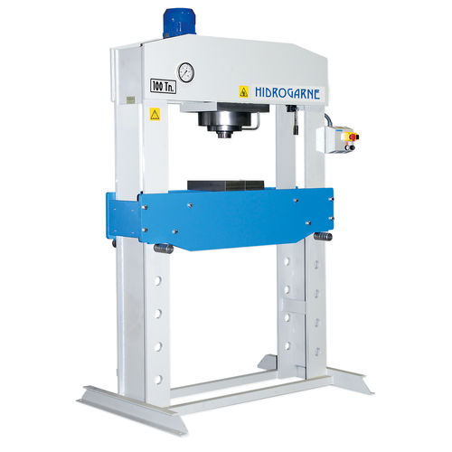 hydraulic press / straightening / swaging / double-action
