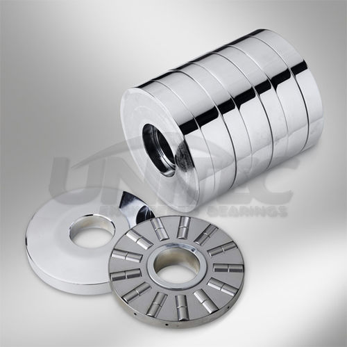 cylindrical roller thrust bearing / for the plastics industry