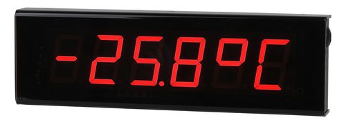 alphanumeric display / 7-segment / 6-digit / programmable