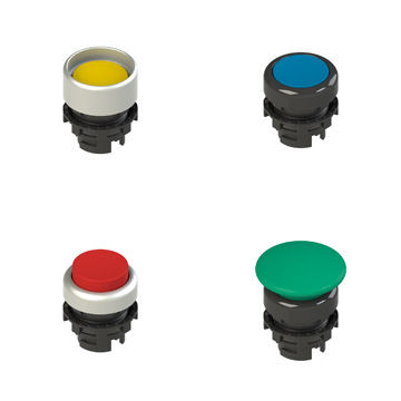 touch push-button switch / multipole / illuminated / IP67