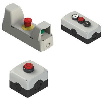 Control box ES, ES AC, EA, EA AC series Pizzato Elettrica