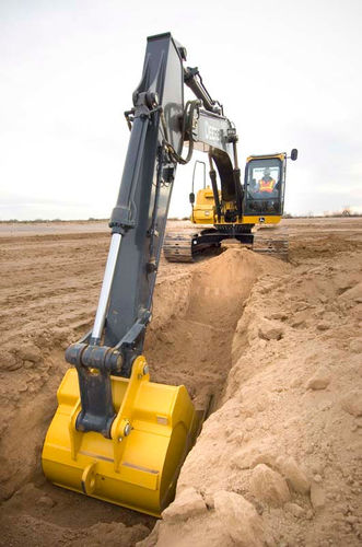 grade control system / digital / for excavators / automatic