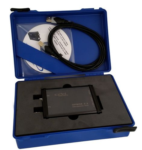 Ultrasonic non-destructive testing system OPBOX 2.1 PBP Optel sp. z o.o.