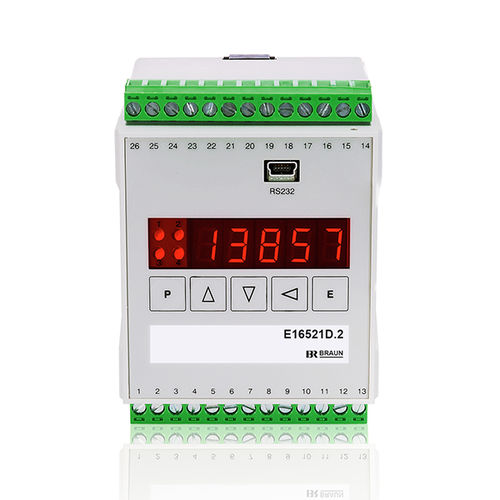 speed monitoring system / measurement / for machines / alarm