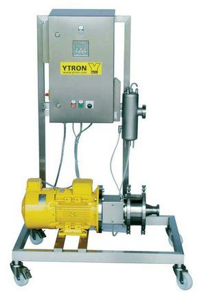 Rotor-stator homogenizer / in-line / for the food industry YTRON-Z YTRON Process Technology