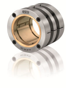 Radial plain bearing GLM series SPIETH-MASCHINENELEMENTE GmbH & Co KG